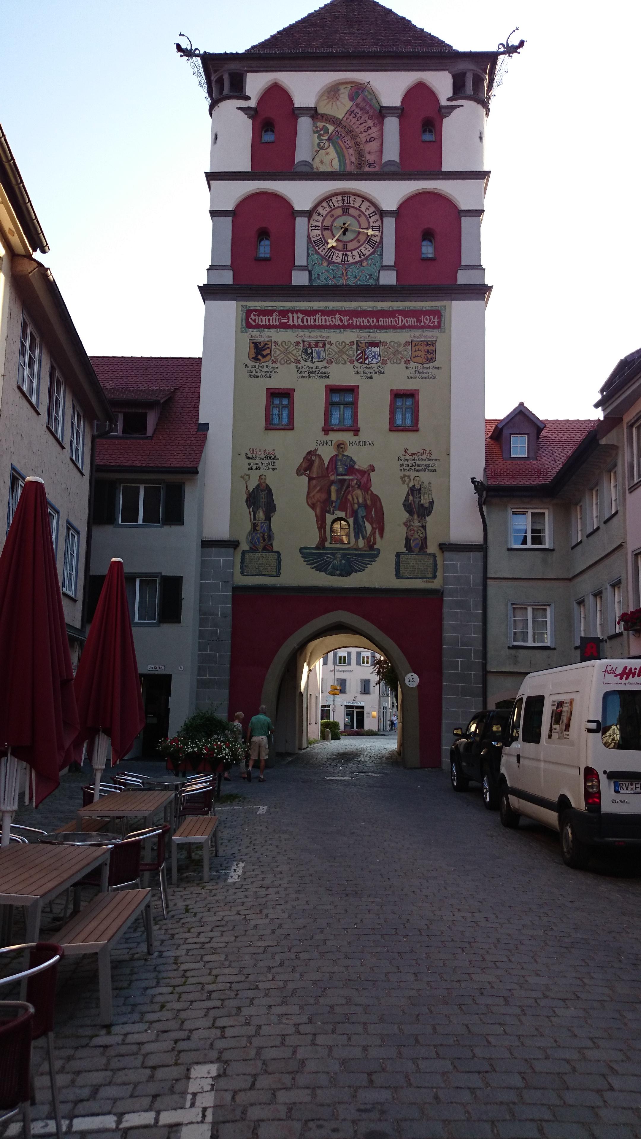 Wangen, Sankt Martinstor